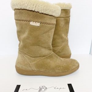 Tecnica Suede Wool line Boots.